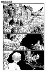 Locke And Key 04 pag 01 inks by GabrielRodriguez