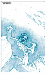 The Man Of Tomorrow pencils by GabrielRodriguez