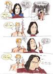 Adventures of Lockhart n Snape by AeanNephquarielle