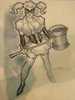 Harley Quinn-Dark Asylum by ukosmith