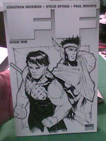 Young Avengers sketch cover by ukosmith