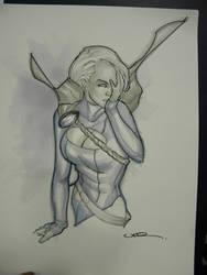 Power Girl by ukosmith
