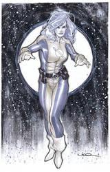 Saturn Girl by ukosmith