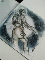 SPACE GIRL by ukosmith