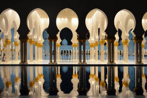 Grand Mosque Colours by suffer1