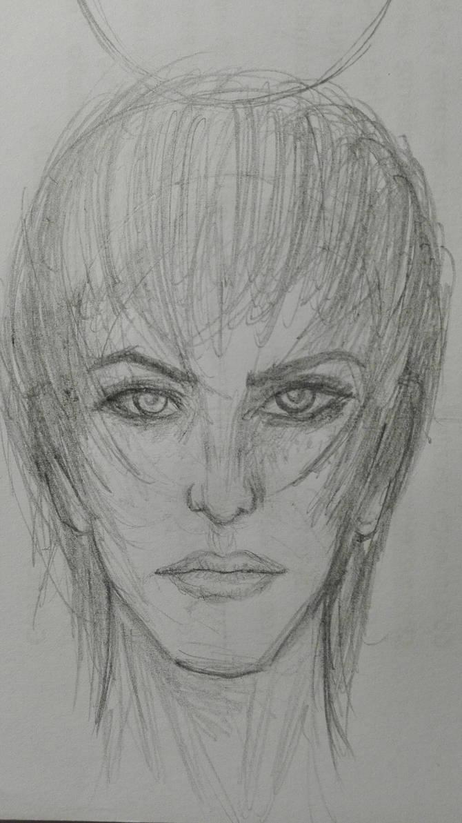 technical draw female by CJackJambu489