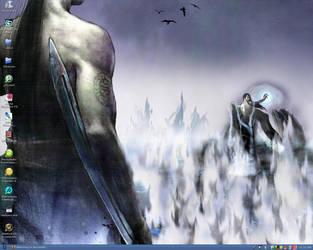Current Desktop by Mxtremeg