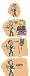 Owen Meets Thor by leonram