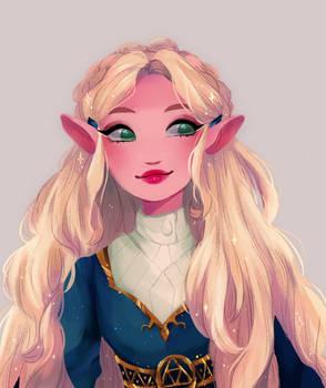 Zelda by snownymphs