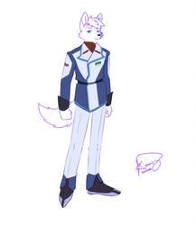 [Commission] Leo thunder in Orb Union Uniform by kEzZzkI