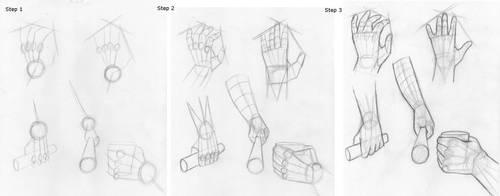 Hand Tutorial 1 by Nikkikomangaka