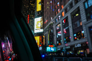 New York - Cab journey by Akentmen