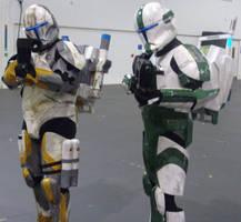 Star Wars Clone Troopers by lunamaxwell