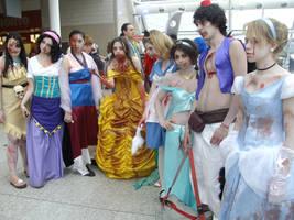 Undead Disney Princesses by lunamaxwell