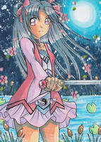 Sakura Hime Kaden Aceo by LuckyAngelausMexx