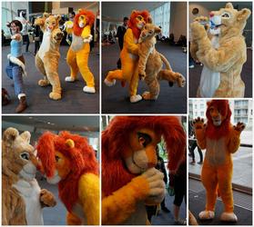 Lions at Supanova by HybridCreampuff