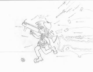 KitsuneHavoc as Soldier by KitsuneHavoc