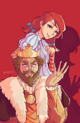 Sassy Wendy's and Burger King by Tukilit