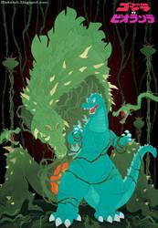 Godzilla versus Biollante by MyPetDinosaur