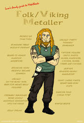 Metal 101- The Folk Metaller by LusoSkav