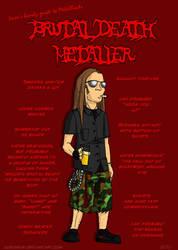 Metal 101- The Death Metaller by LusoSkav