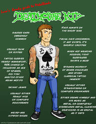 Metal 101- The Deathcore kid by LusoSkav