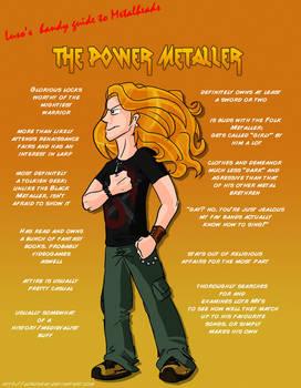 Metal 101- The Power Metaller by LusoSkav