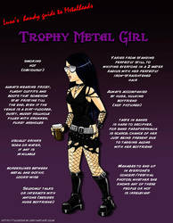 Metal 101- The Trophy Metal Girl by LusoSkav