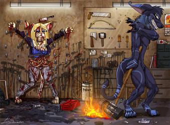 Commission- Nailed, Quartered, Consumed by LusoSkav