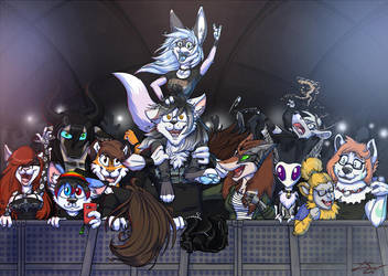 Commission- The Rock Show by LusoSkav