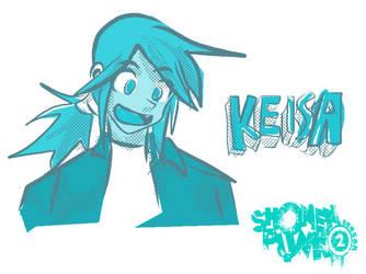 Keisa try1 by shonenpunk