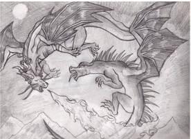 Dragon Battle by DirtR0adAnthem