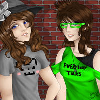 Cjbunneh and Catsky10 (ROBLOX) by FlyingPings