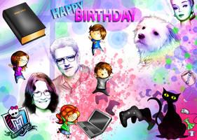 Happy Birthday Momma! by FlyingPings
