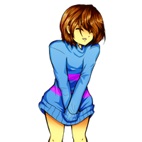 Anime Frisk by FlyingPings