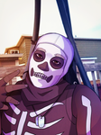Fortnite Skull Trooper | Godleo by FlyingPings