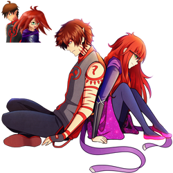 Talamhorah (Samantha and Alex) Commission by FlyingPings