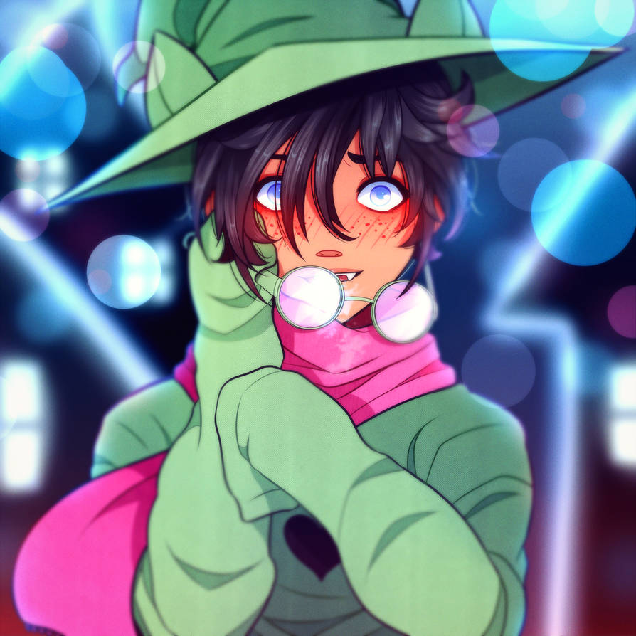 Anime ralsei deltarune by flyingpings
