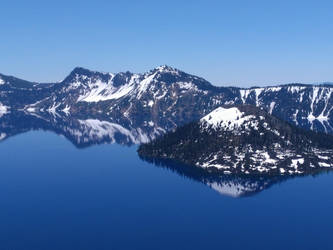 Crater Lake by CosineSquared