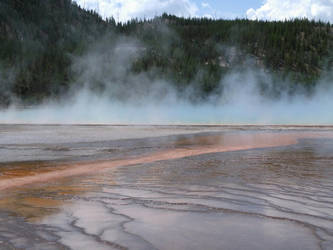 Grand Prismatic Spring by CosineSquared