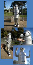 THE Bender Costume by GoblinMorningTea
