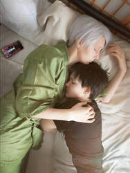 Just a short nap by Sakiko-Seihikaru