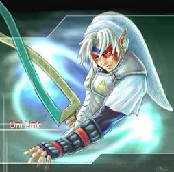 Pchat fierce deity Oni Link by kashigi