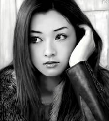 Tomiko Van Oekaki by kashigi