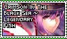Crimson in the Black Sea ~ Legendary Fish by Youkai-Minori