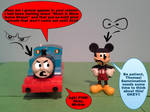 An Inpatient Thomas, An Explaining Mickey by TrainboysArtwork