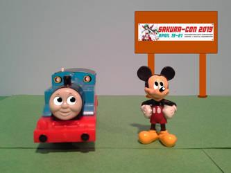 We're Anticipated for... SAKURA CON 2019 by TrainboysArtwork