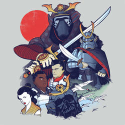 Samurai Wars: The Bushido Awakens by KindaCreative