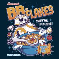 BB-Flakes (Shirt Design) by KindaCreative