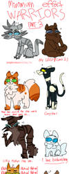 Low Quality Warrior Cats-Part 3 by Ghobsmacka